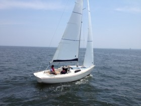Test sailing sc8m