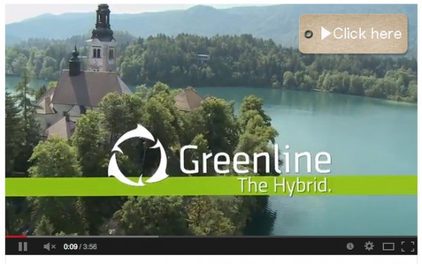 Greenline 33 on lake Bled